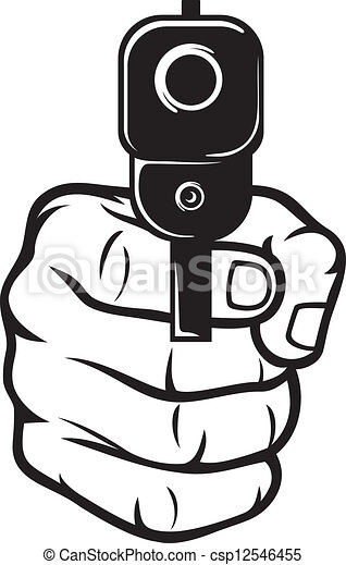 αιχμηρός , ανάμιξη βολή , (pistol) - csp12546455