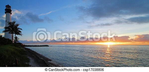 ακρωτήριο , florida , πανόραμα  - csp17038806