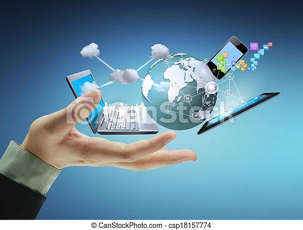 ανάμιξη , τεχνολογία  - csp18157774