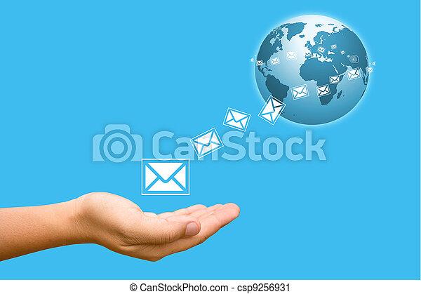 ανάμιξη , world., δικό σου , τριγύρω  - csp9256931