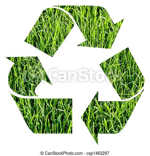 ανακυκλώνω σύμβολο  - csp1463297