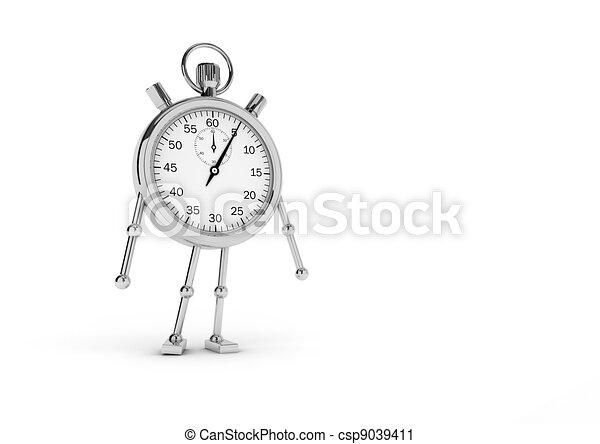 ανακόπτω , ρολόι  - csp9039411