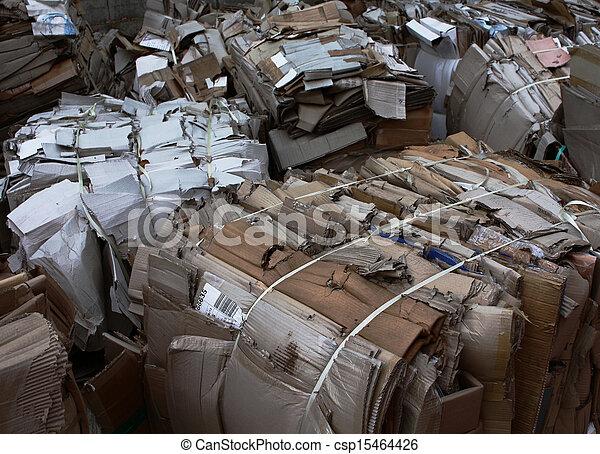 ανακύκλωση , ακαλλιέργητος αξίες  - csp15464426