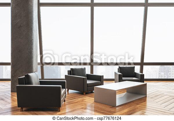 αναμονή , έδρα , δωμάτιο , σύγχρονος  - csp77676124