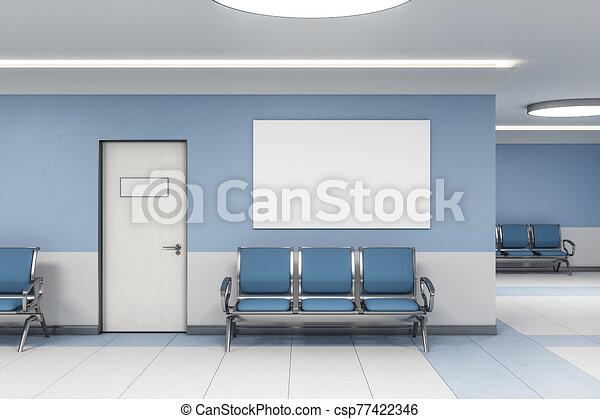αναμονή , αφίσα , δωμάτιο , κενό , σύγχρονος  - csp77422346