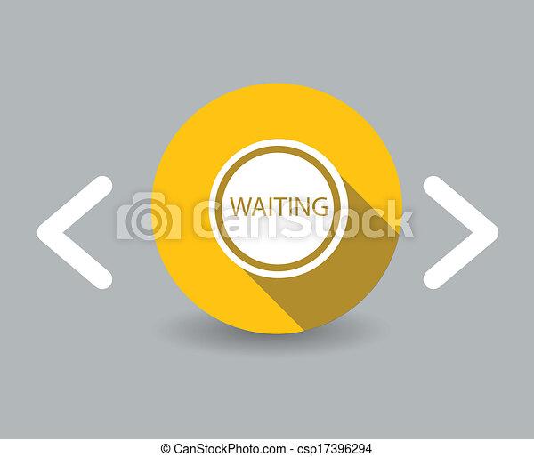 αναμονή , εικόνα  - csp17396294