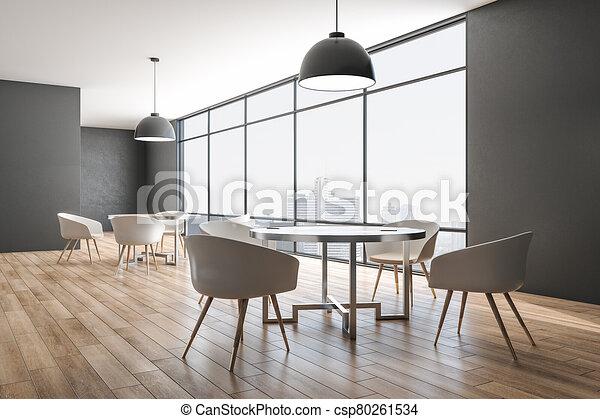 αναμονή , εσωτερικός , σύγχρονος , δωμάτιο  - csp80261534
