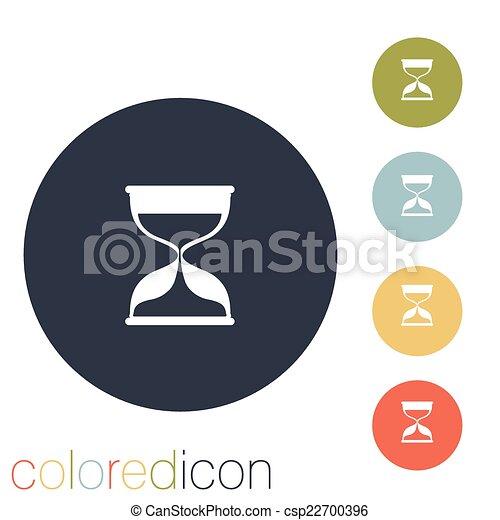 αναμονή , κλεψύδρα  - csp22700396
