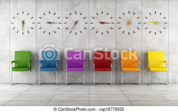 αναμονή , σύγχρονος , δωμάτιο  - csp18776555