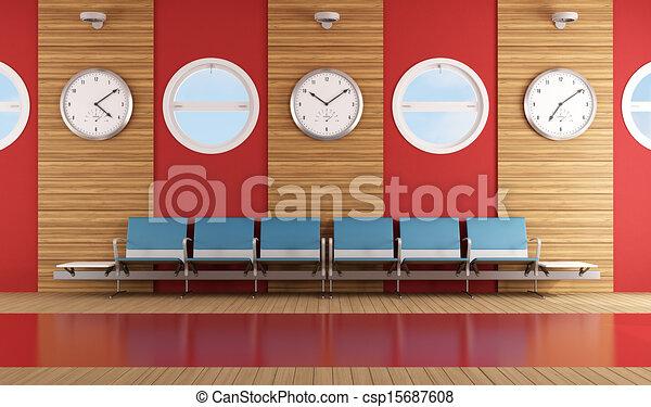 αναμονή , σύγχρονος , δωμάτιο  - csp15687608
