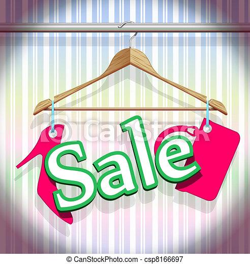 αναρτήρ , ρουχισμόs , πώληση  - csp8166697