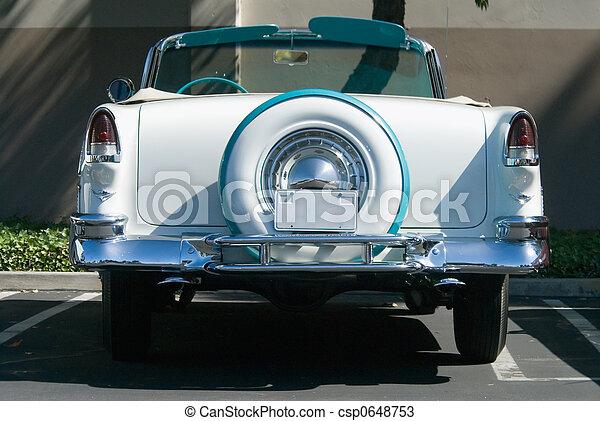 αντίκα , ανοιχτό αυτοκίνητο  - csp0648753
