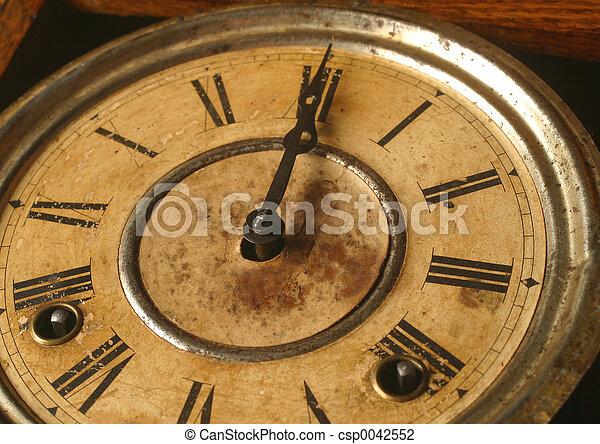 αντίκα , ρολόι  - csp0042552