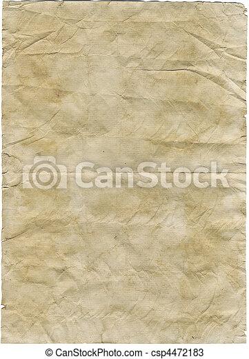 αντίκα , χαρτί  - csp4472183