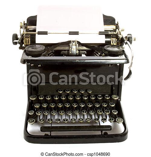 αντίκα , type-writer - csp1048690