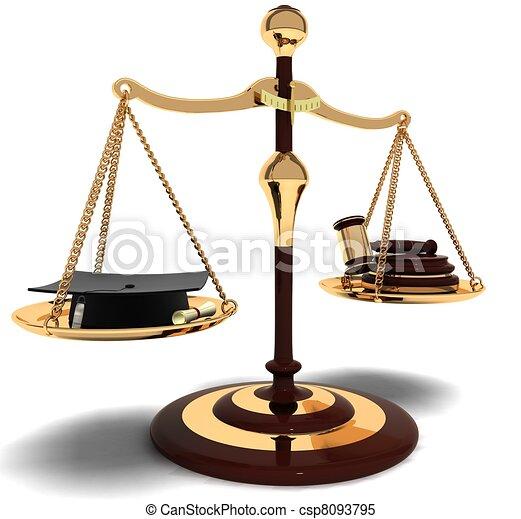 αντιμετωπίζω , δικαστές , δικηγόρος  - csp8093795