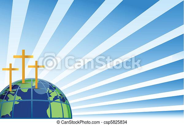 ανώτατος , άγιος , γη , ανάποδος  - csp5825834