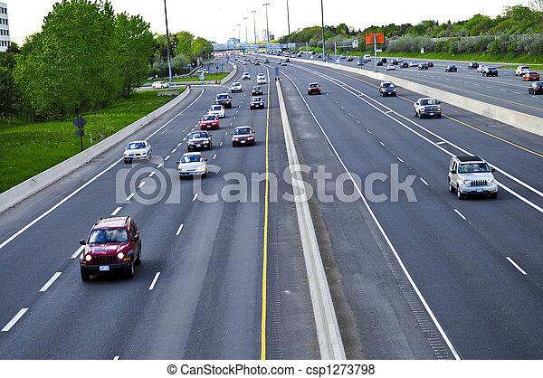 απασχολημένος , εθνική οδόs  - csp1273798