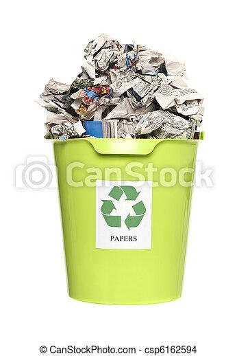 αποθήκη , ανακύκλωση , χαρτί  - csp6162594