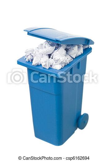 αποθήκη , ανακύκλωση , χαρτί  - csp6162694