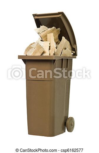 αποθήκη , ανακύκλωση , χαρτί , χαρτόνι  - csp6162577