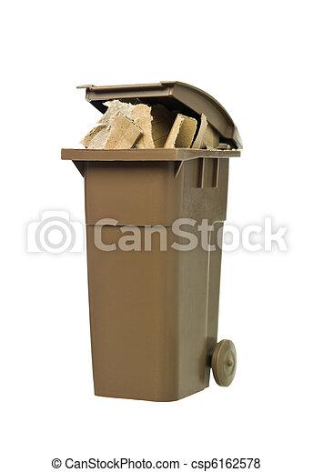 αποθήκη , ανακύκλωση , χαρτί , χαρτόνι  - csp6162578