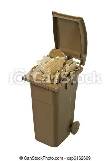 αποθήκη , ανακύκλωση , χαρτί , χαρτόνι  - csp6162669