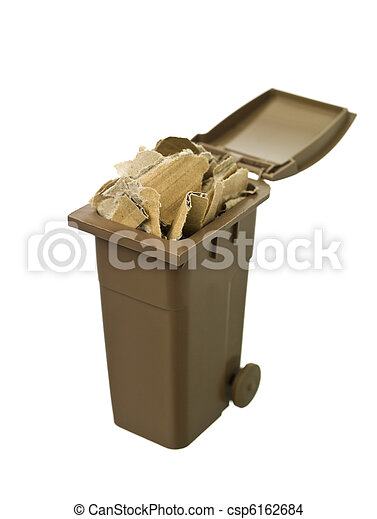 αποθήκη , ανακύκλωση , χαρτί , χαρτόνι  - csp6162684