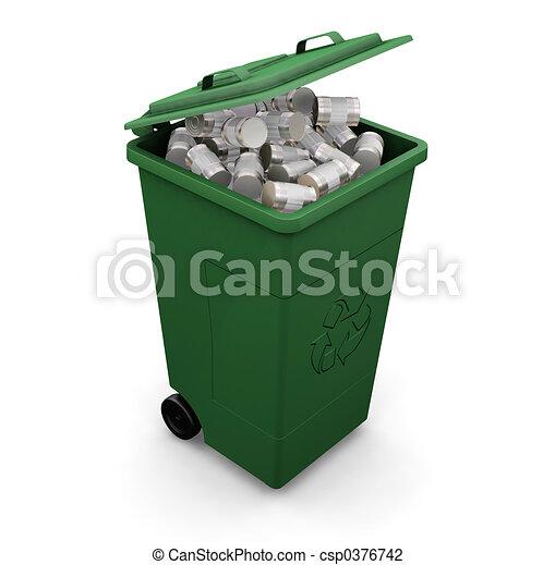 αποθήκη , ανακύκλωση  - csp0376742