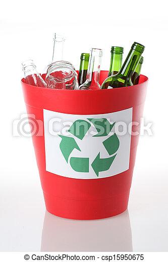 αποθήκη , γυαλί , ανακύκλωση  - csp15950675