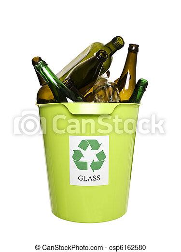 αποθήκη , γυαλί , ανακύκλωση  - csp6162580