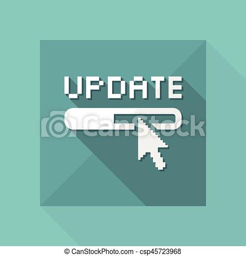 απομονωμένος , εικόνα , εκσυγχρονίζω , μονό , μικροβιοφορέας , εικόνα  - csp45723968