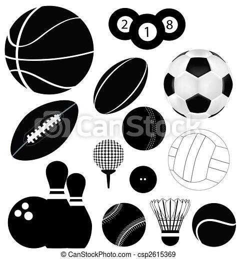 αρχίδια , αθλητισμός  - csp2615369