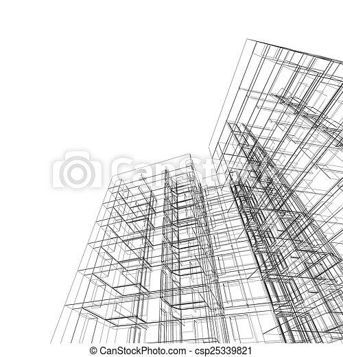 αρχιτεκτονική  - csp25339821