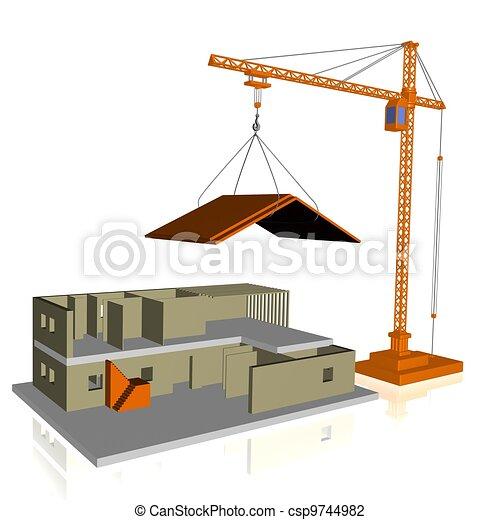 αρχιτεκτονική  - csp9744982