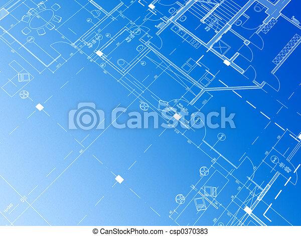 αρχιτεκτονικό σχέδιο - csp0370383