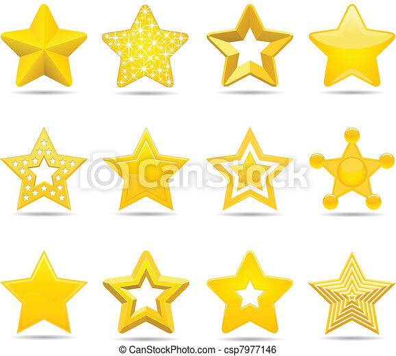 αστέρας του κινηματογράφου  - csp7977146