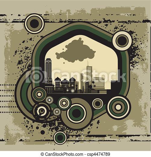 αστικός , τέχνη  - csp4474789
