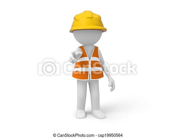 ασφάλεια , εργάτης  - csp19950564
