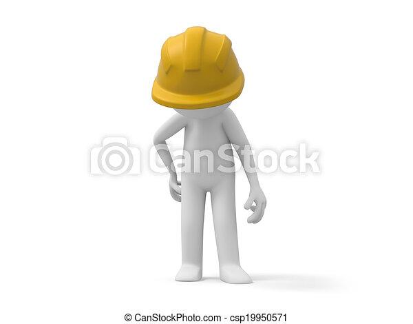 ασφάλεια , εργάτης  - csp19950571