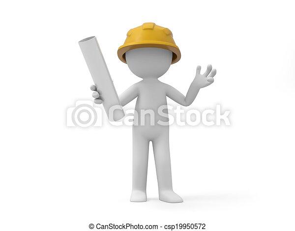 ασφάλεια , εργάτης  - csp19950572