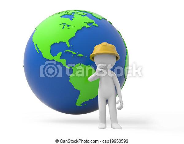 ασφάλεια , εργάτης  - csp19950593