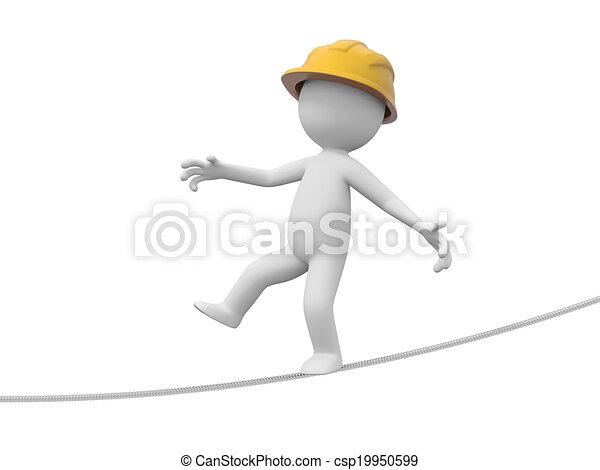 ασφάλεια , εργάτης  - csp19950599