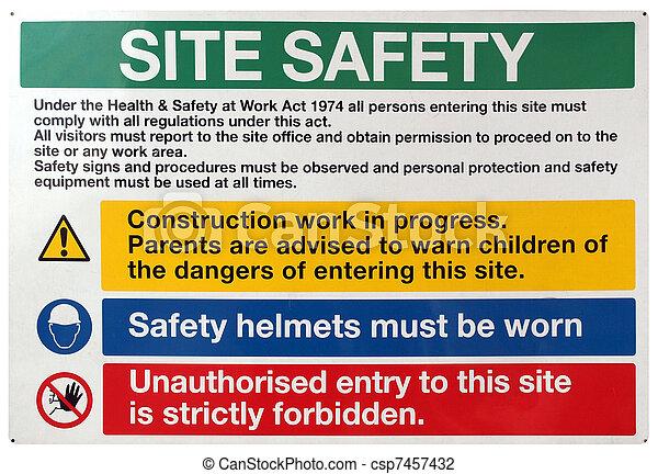 ασφάλεια , θέση , σήμα  - csp7457432