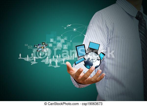 ασύρματος , μέσα ενημέρωσης , τεχνολογία , κοινωνικός  - csp19063673
