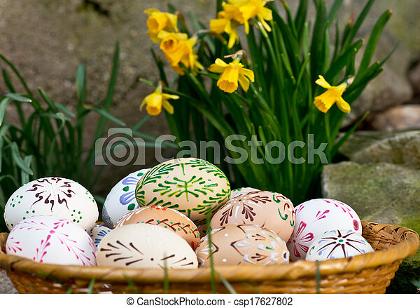 αυγά , πόσχα  - csp17627802