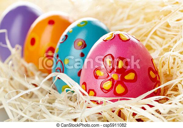 αυγά , πόσχα  - csp5911082