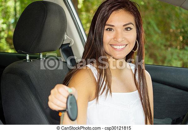 αυτοκίνητο , οδήγηση  - csp30121815