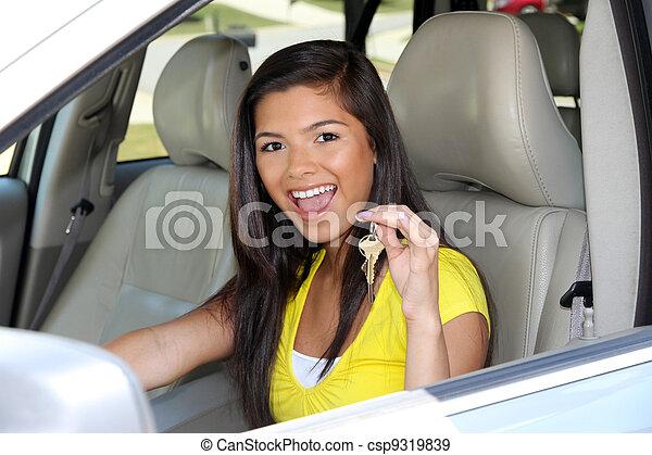 αυτοκίνητο , οδήγηση  - csp9319839