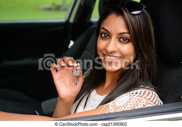 αυτοκίνητο , οδήγηση  - csp21395903